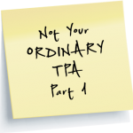 Not your ordinary TPA part 1 link