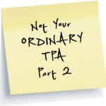 Not your ordinary TPA part 2 link