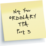 Not your ordinary TPA part 3 link